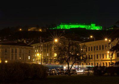 velikonoční zelený Špilberk