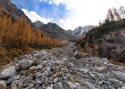 Alpské vyschlé koryto