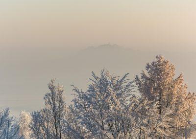 Prachovské skály - zimní vyhlídka