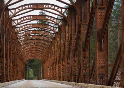 stará mostní konstrukce