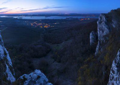 večerní Martinka panoramaticky